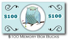 Memory box bucks