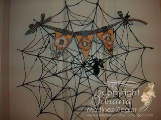 Halloween banner door wm