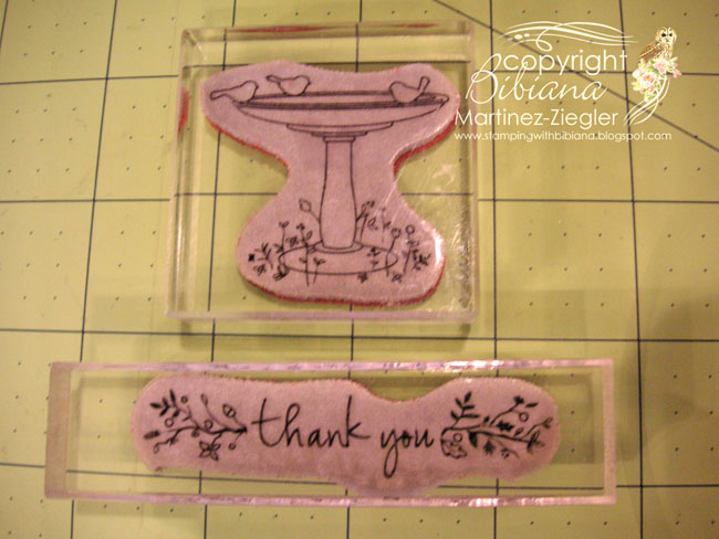 Fuente supplies stamps cling
