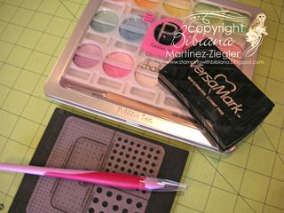 Poppy layout supplies