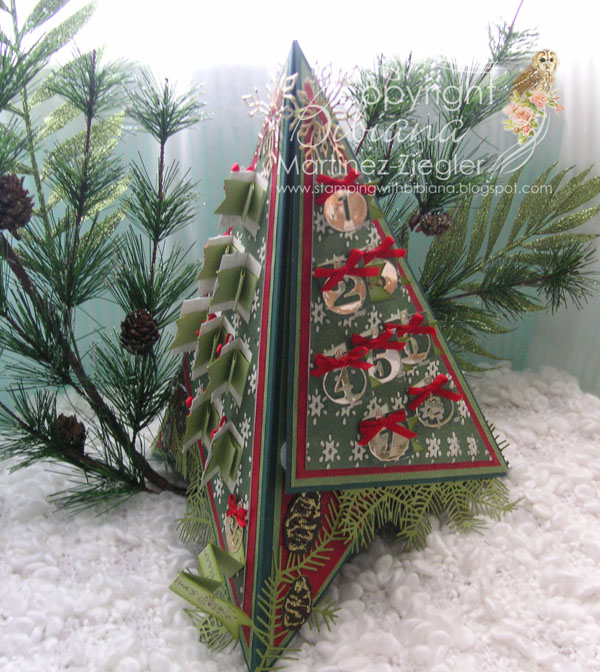Tee pee advent side