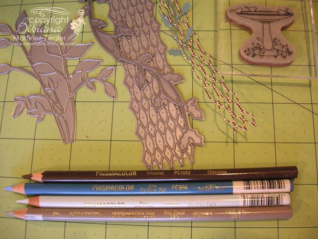Fountain trellis supplies
