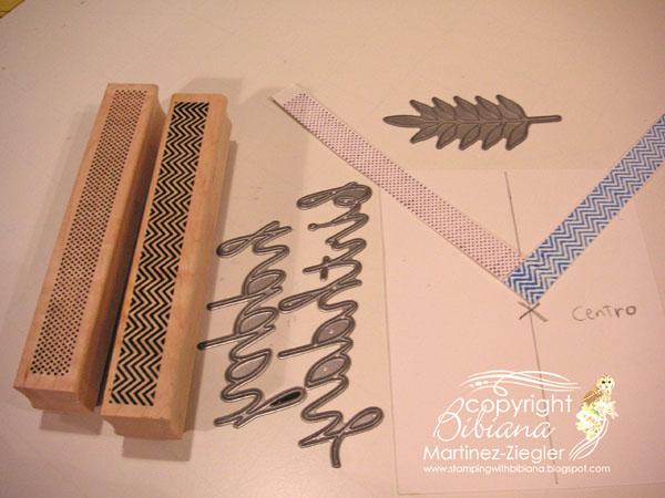 Faux washi tape neg supplies