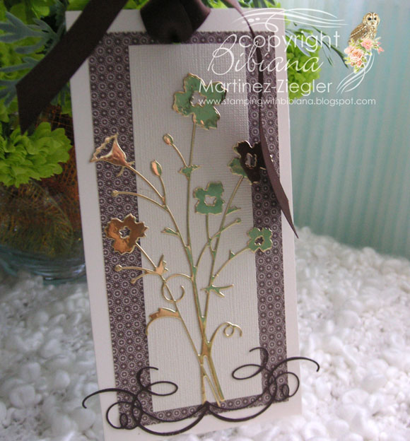 Neg & posit die cuts bookmark