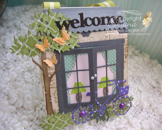 Door knob welcome front