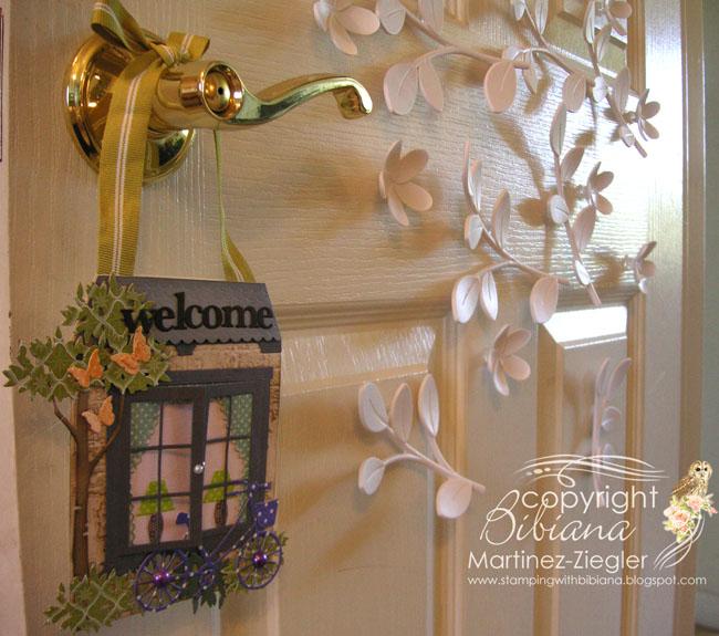 Door knob welcome my room