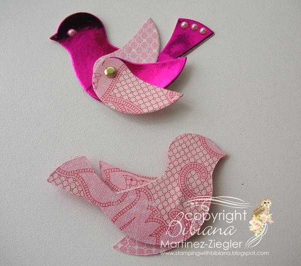 Bird bookmark thanks 2 birds