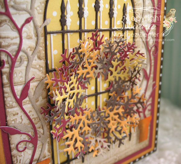 Popyst gate wreath