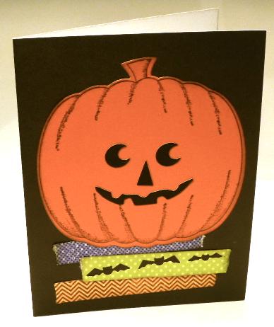 Halloween-card-pumpkin-bats-techniques-diecuts-die-chevron-washi tape-Jean-Okimoto