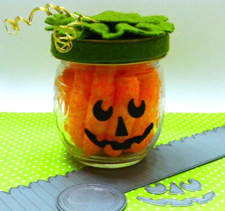 Memory Box-Halloween-Dies-Pumpkin-Jack o' Lantern-Jean Okimoto