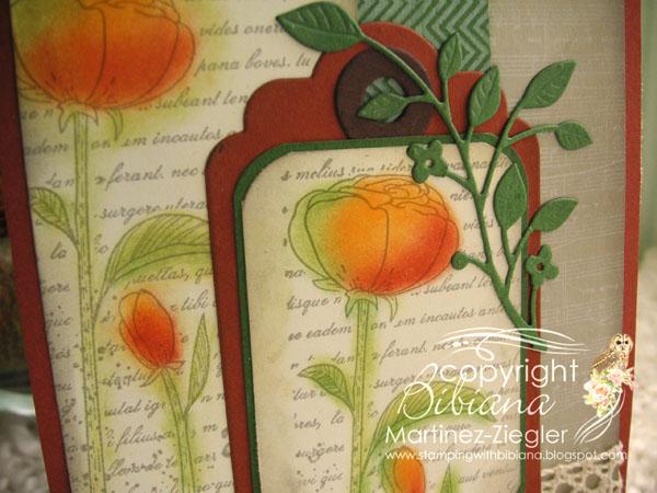 Fall pan pastels poppies detail