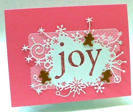 Winter Joy-Gingerbread-Memory Box-Jean Okimoto