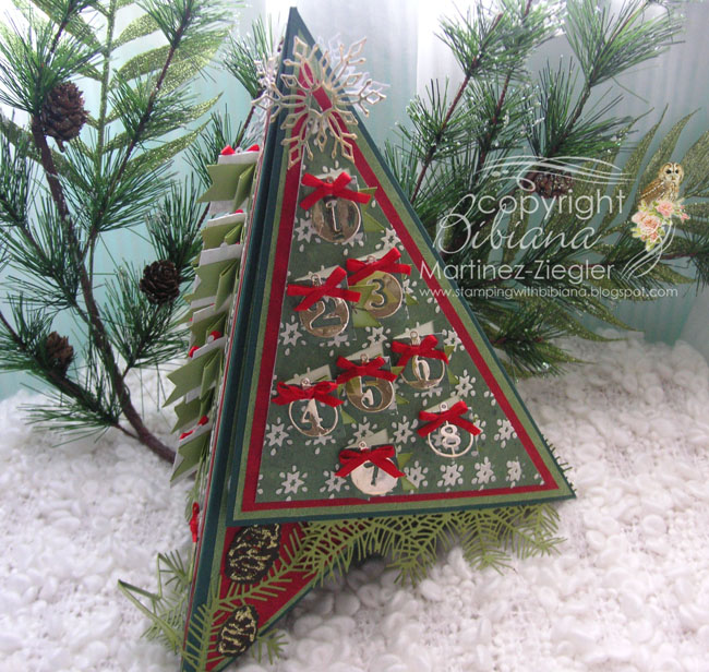 Tee pee advent front