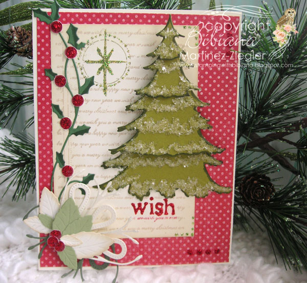 Tarjeta De Navidad Estilo Rustico A Crear Se Dijo - Crear-tarjetas-de-navidad