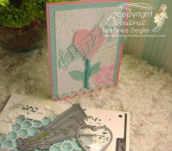 Heart teal supplies