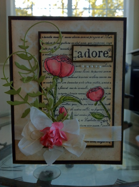MM adore card 2014 2