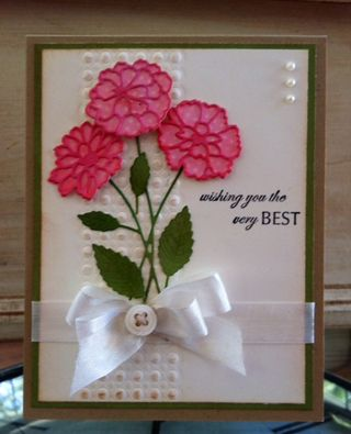 MB Zinnia Card