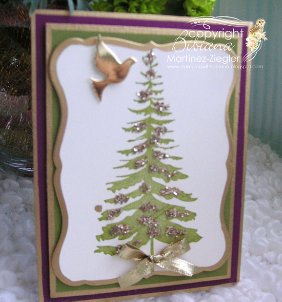 Gold pine side