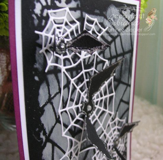 Halloween bats detail
