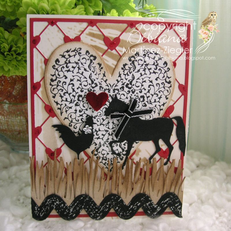 Valentine animals front