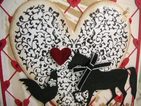 Valentine animals detail