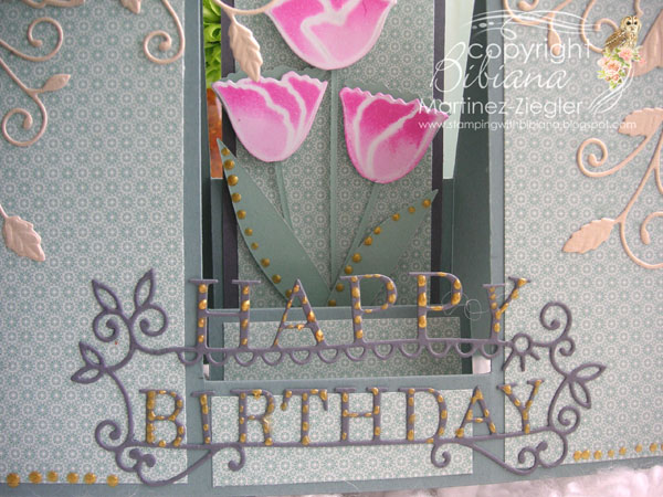 Bday center step detail