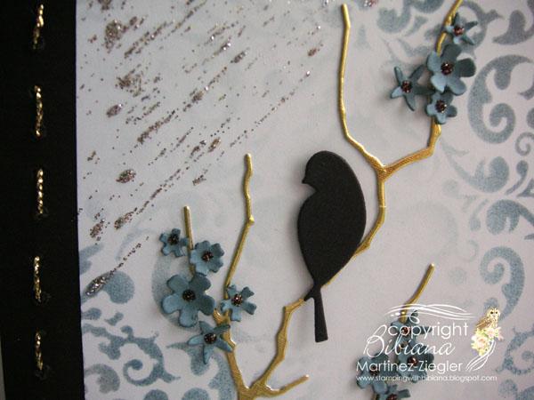 Sympathy bird detail