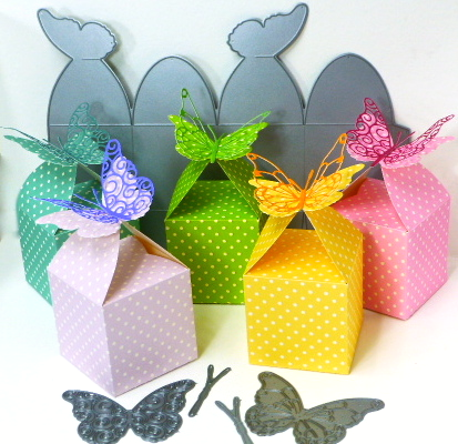 Jean Okimoto-Butterfly Favor Boxes-Memory Box