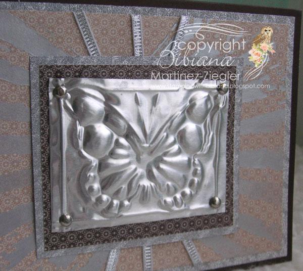 Metal card detail