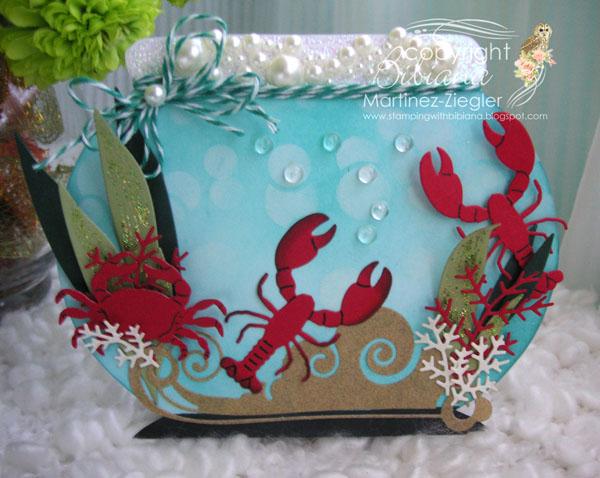 Fish bowl front