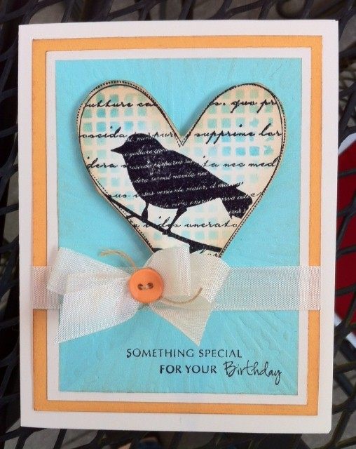 MB bird card