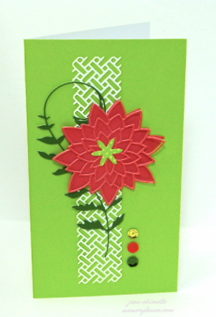 Memory Box Dies-Memory Box Wicker Panel-Memory Box Pavilia Bloom-Memory Box DonningtonTendril-Jean Okimoto