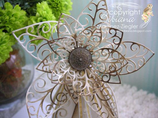 Teepee poinsettia flower