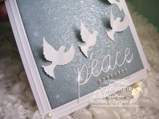 Doves peace detail