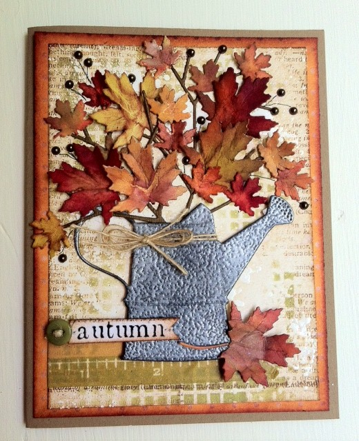 MB autumn card