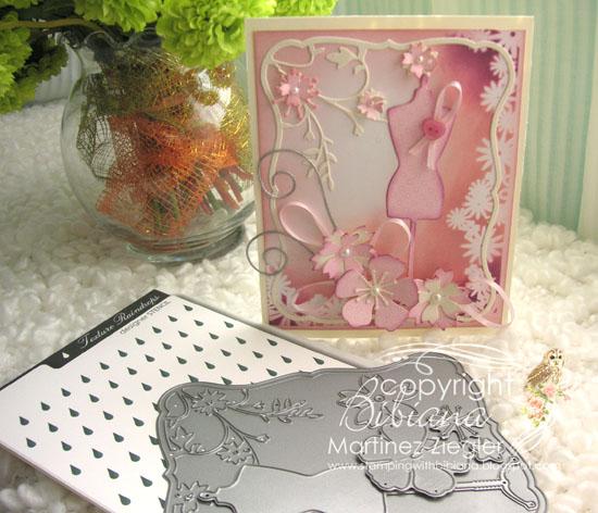 Pink oct dress supplies