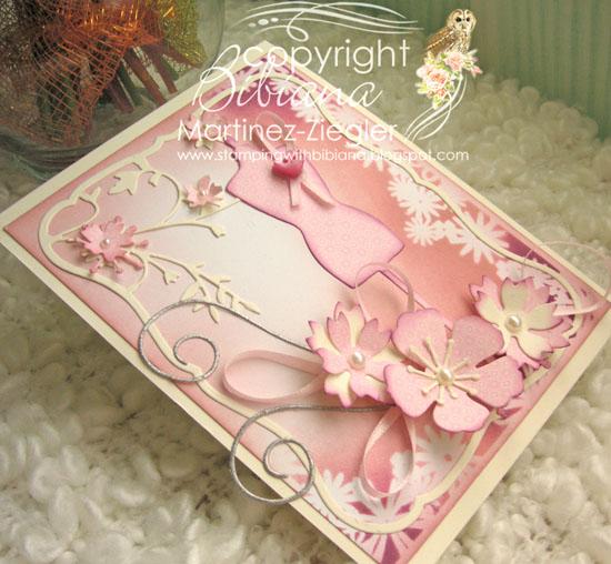 Pink oct dress flat