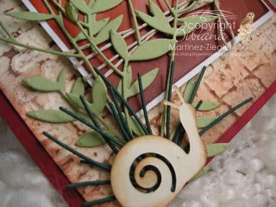 Tuscany detail snail