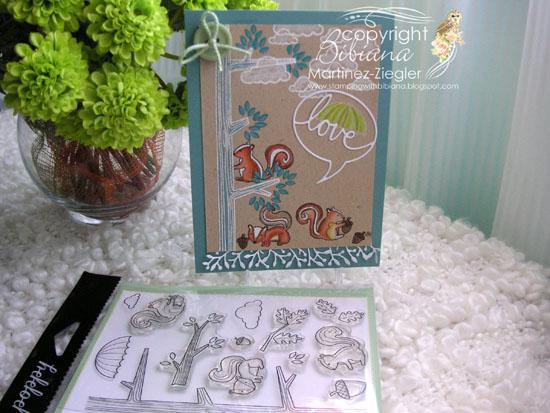 PPS squirrel stamp supplies