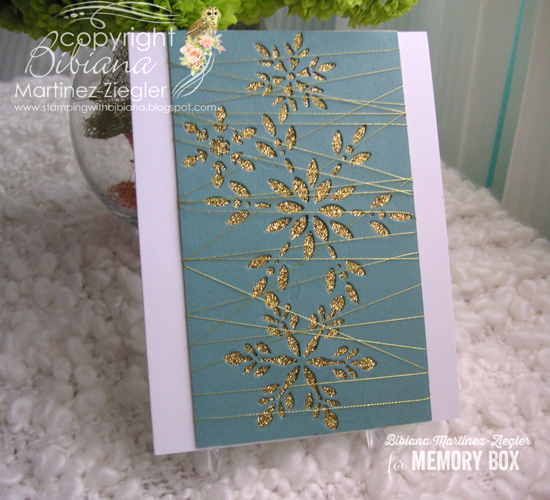 Gold snowflakes front