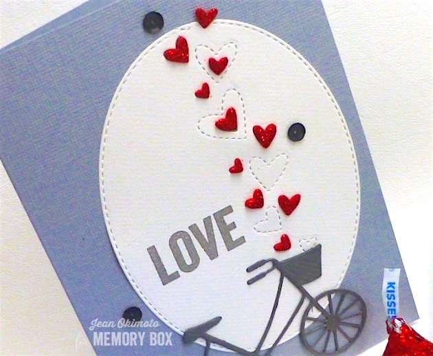MemoryBoxFlickerHearts-OpenStudioStitchedOvalLayers-MemoryBoxBrandNewBicycle-JeanOkimoto-ImagineCrafts