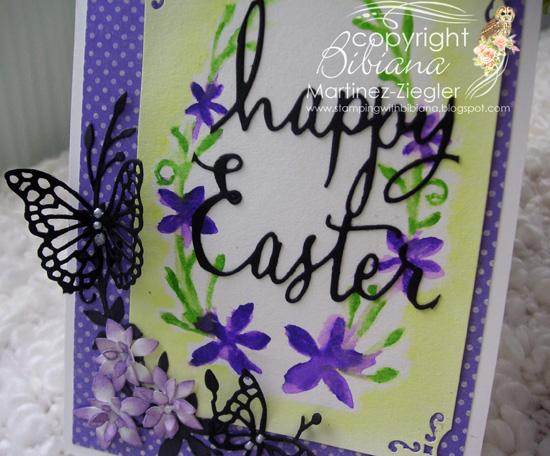 Happy easter 2 ways detail purple