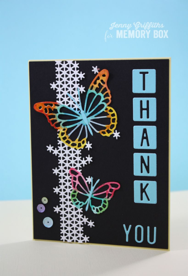 Bold & Beautiful Thank You Card by Jenny Griffiths - Outside The Box