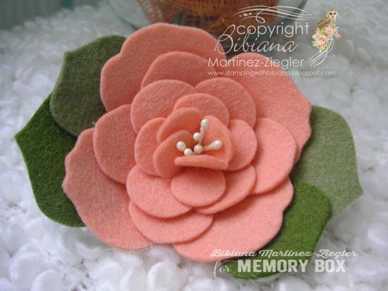 Peach flower front