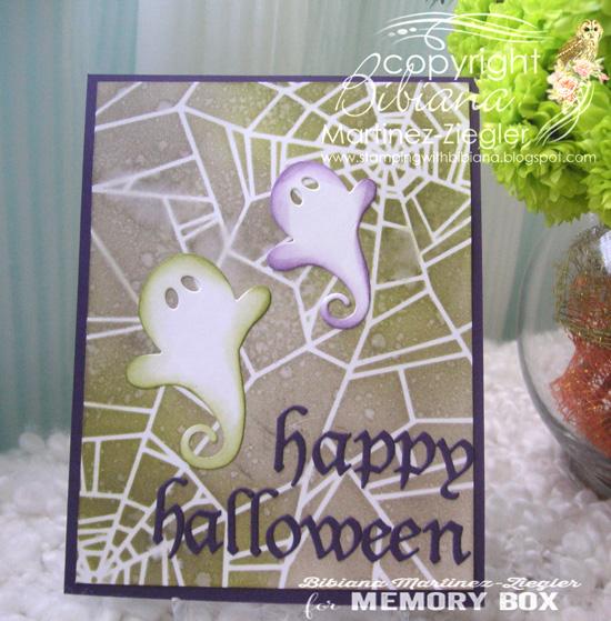 Halloween stencil front