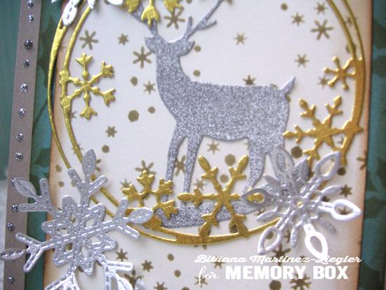 Circle deer detail