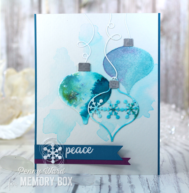 Teal-ornaments