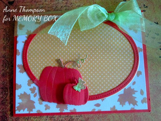 Harvest Pumpkin Oval Frame
