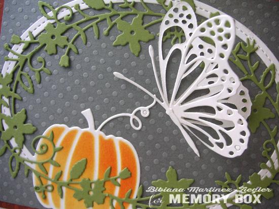 Fall butterfly detail