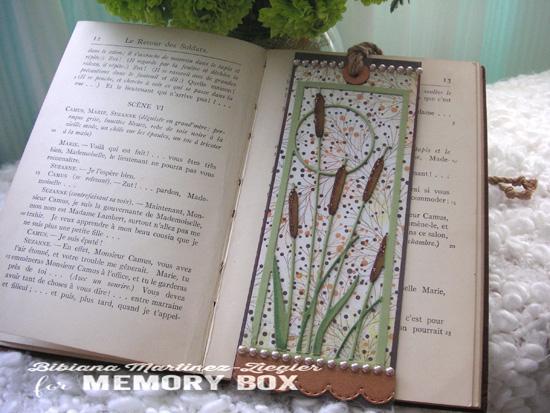 Bookmark cattails inside normal